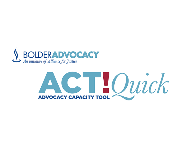Bolder Advocacy ACT Quick guide